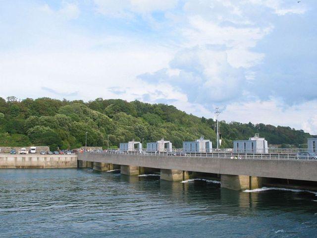 Приливная электростанция на реке Ранс