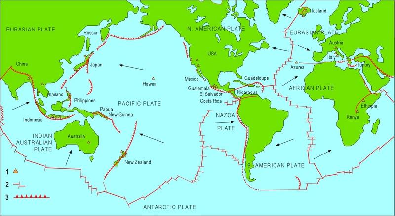 Карта геотермальной энергии